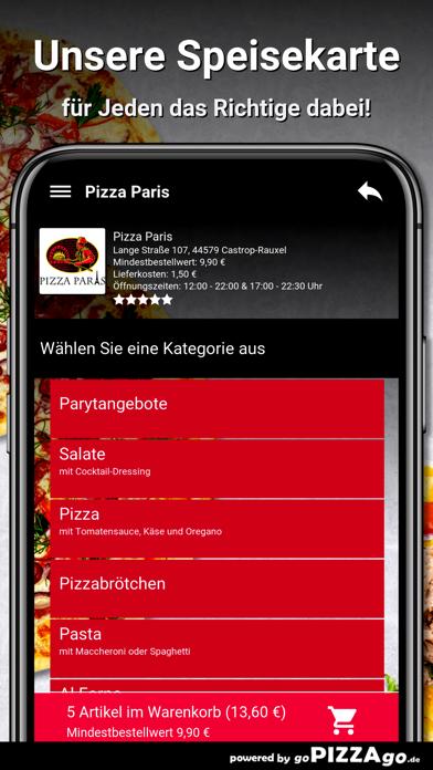 Pizza Paris Castrop-Rauxel screenshot 4