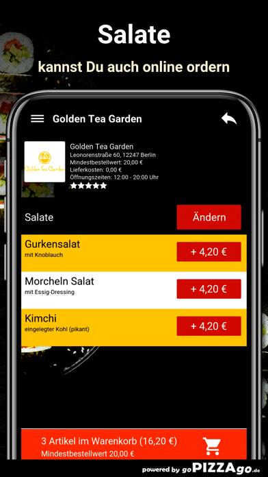 Golden Tea Garden Berlin screenshot 5