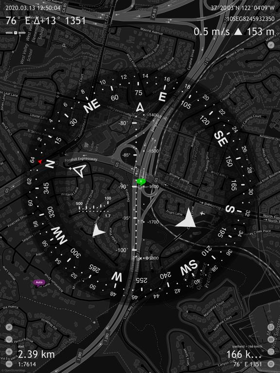 Commander Compass Go iPad app afbeelding 2