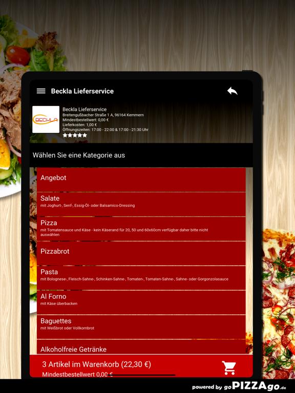 Beckla Lieferservice Kemmern screenshot 8