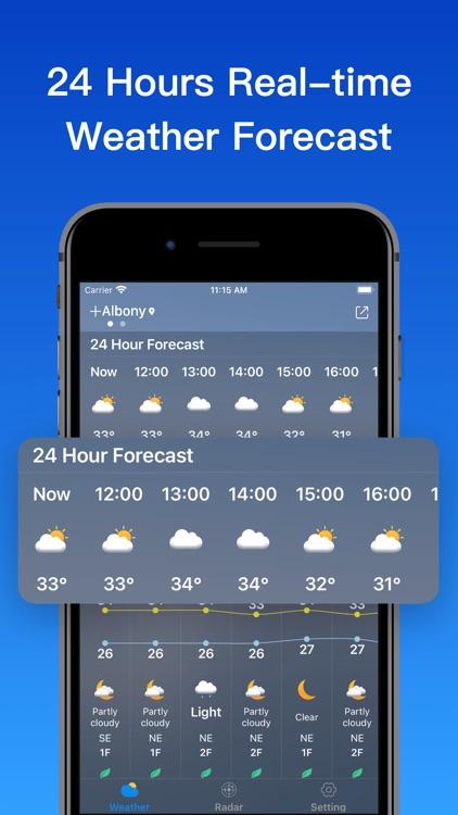Weatherٞ  Forecast screenshot-4