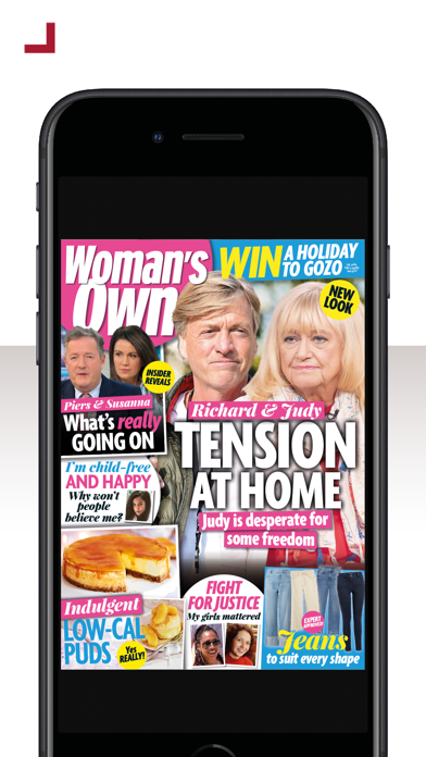 Woman's Own MagazineScreenshot of 1