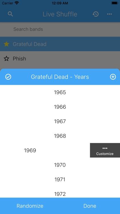 Live Shuffle screenshot-3