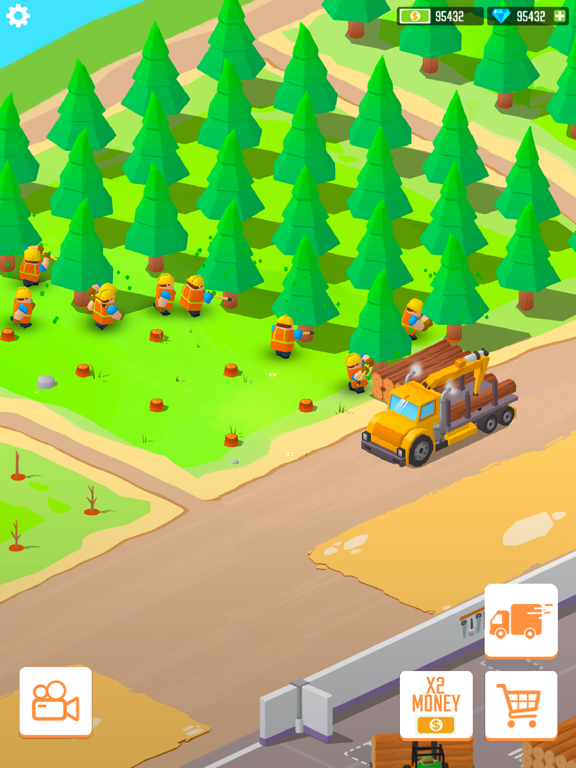 Lumber empire: idle tycoon iPad app afbeelding 7