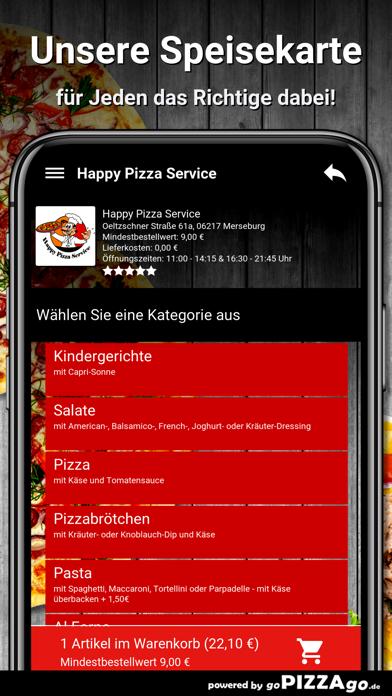 Happy Pizza Service Merseburg screenshot 4