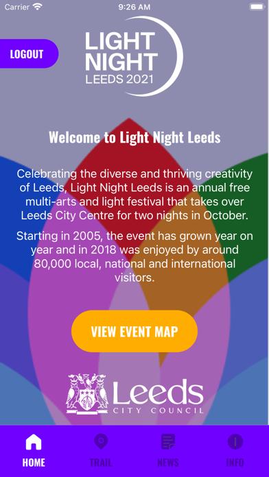 Light Night Leeds 2021 screenshot 1