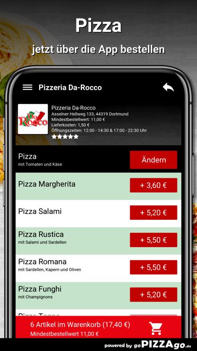 Pizzeria Da-Rocco Dortmund screenshot 5