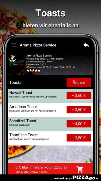 Aroma Pizza Service Borna screenshot 6
