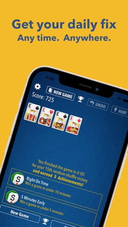 Solitaire - The Best Card Game screenshot-3