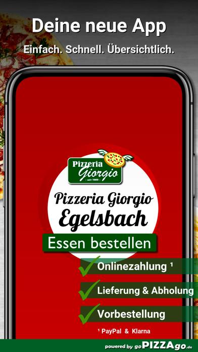 Pizzeria Giorgio Egelsbach screenshot 1