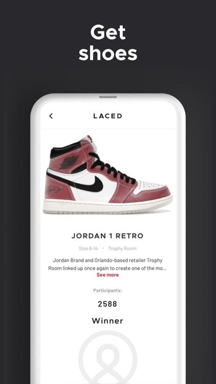Laced - Win Sneakers screenshot-5