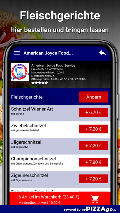 American Joyce Food Marl screenshot 1