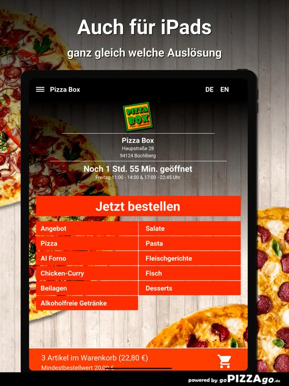 Pizza Box Büchlberg screenshot 7