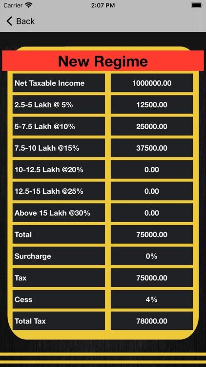 India Tax screenshot-5
