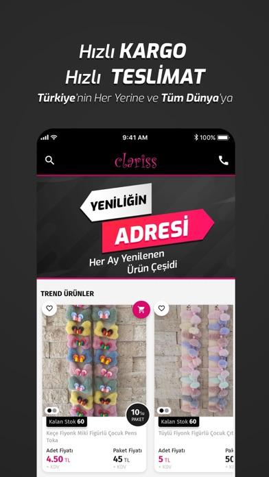 Clariss screenshot 1