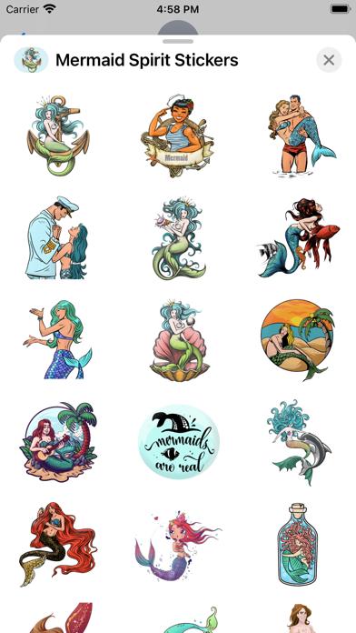 Mermaid Spirit Stickers screenshot 2