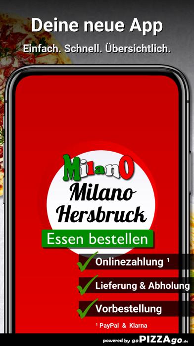 Pizza Milano Hersbruck screenshot 1