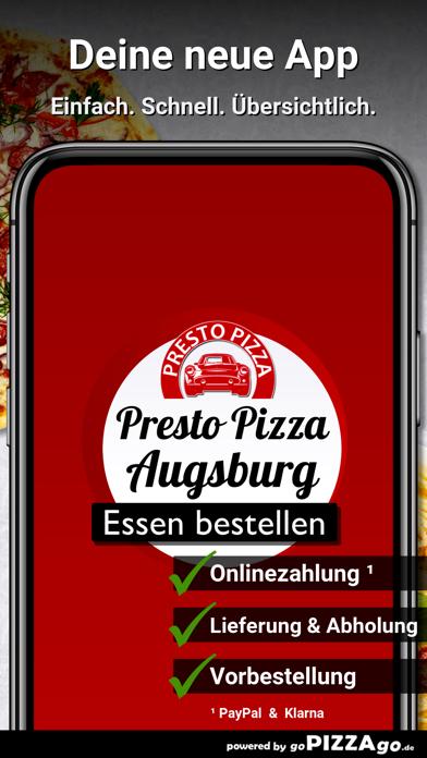 Presto Pizza Service Augsburg screenshot 1