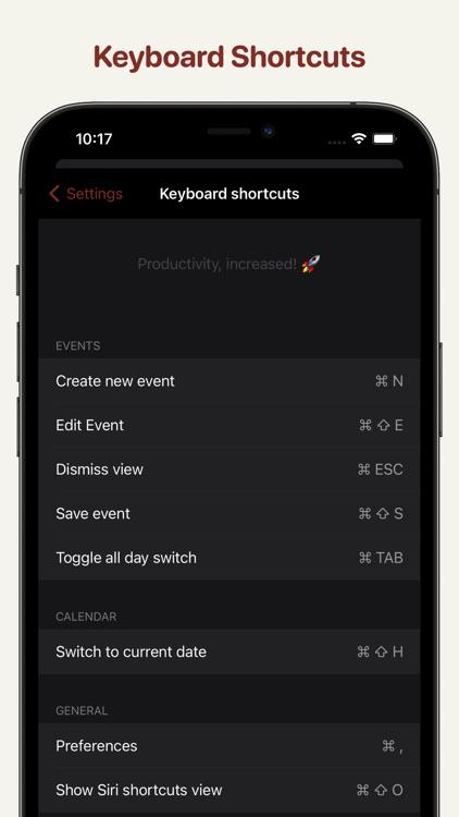 Clendar - minimal calendar screenshot-3