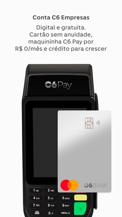 C6 Bank: Cartão, conta e mais!