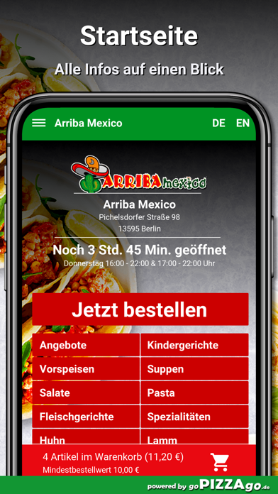 Arriba Mexico Berlin screenshot 2