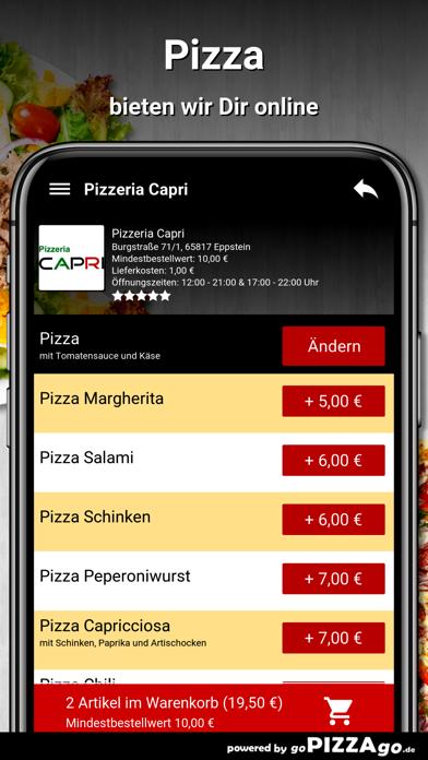Pizzeria Capri Eppstein screenshot 5