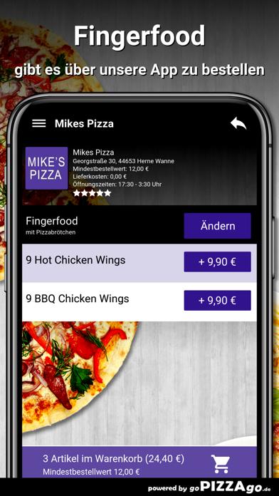 Mikes Pizza Herne Wanne screenshot 6