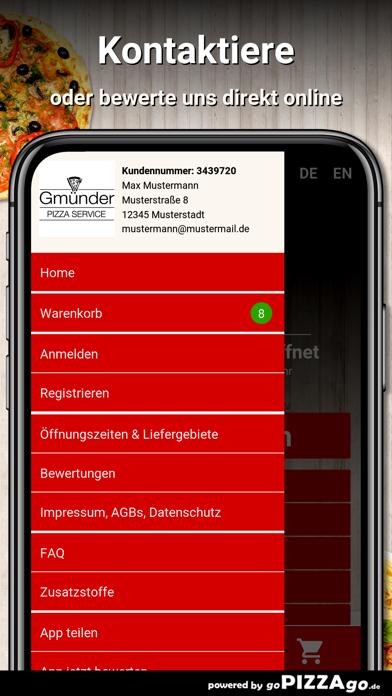 Gmünder Pizzaservice Schwäbisc screenshot 3
