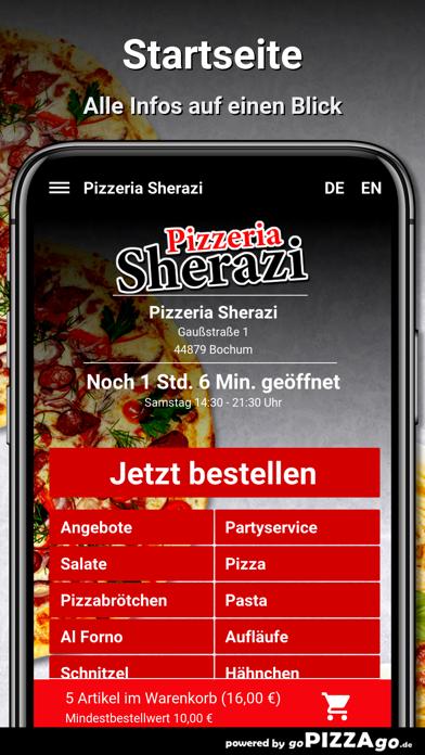 Pizzeria Sherazi Bochum screenshot 2