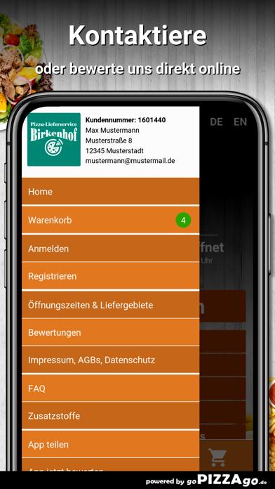 Pizzahaus-Birkenhof Lorsch screenshot 3