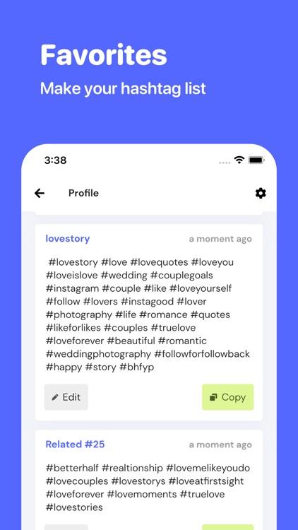 FameHunt - Hashtag Tool screenshot-3