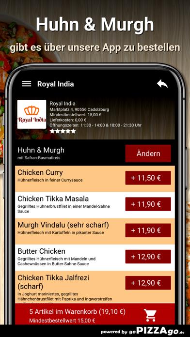 Royal India Cadolzburg screenshot 6