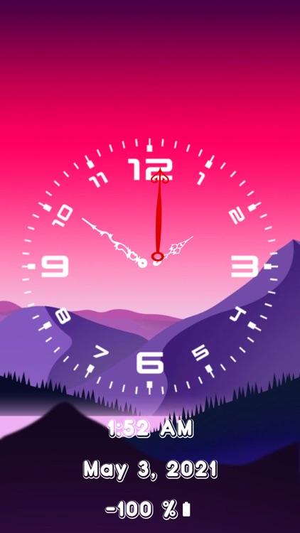 Analog Clock~Large Clock Lite screenshot-4