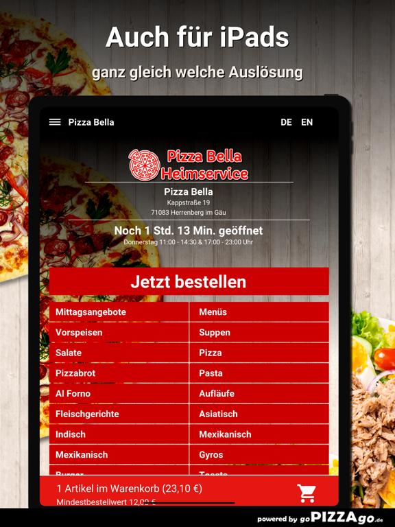 Pizza Bella Herrenberg im Gäu screenshot 7