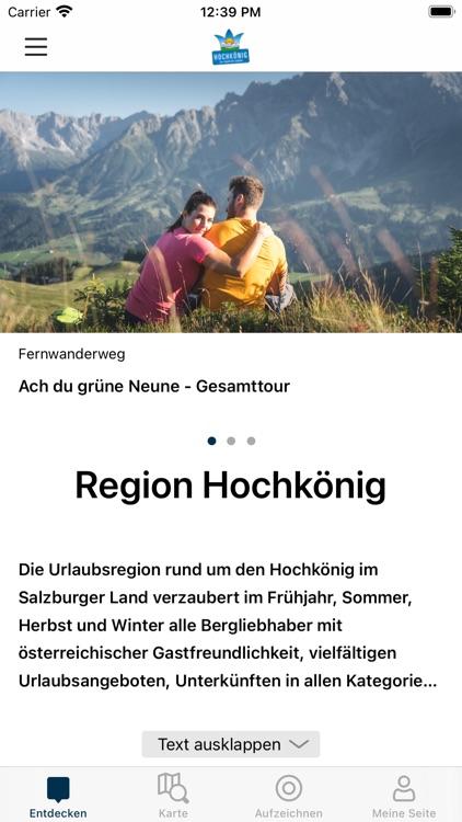 Die Region Hochkönig entdecken