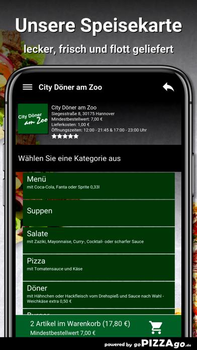 City Döner am Zoo Hannover screenshot 4