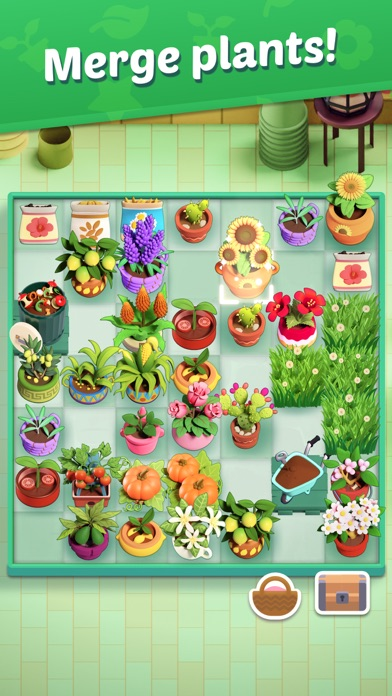 Plantopia - Merge GardenScreenshot of 2