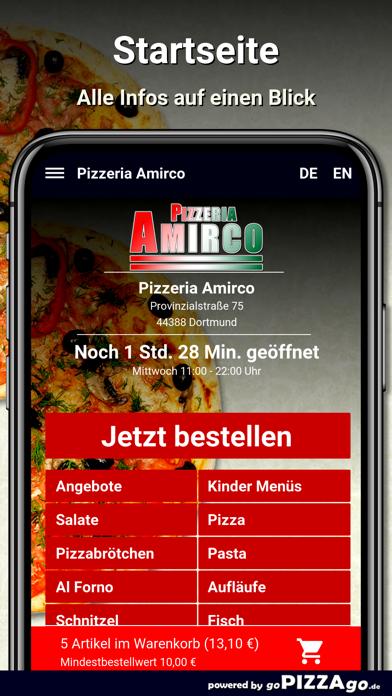 Pizzeria Amirco Dortmund screenshot 2