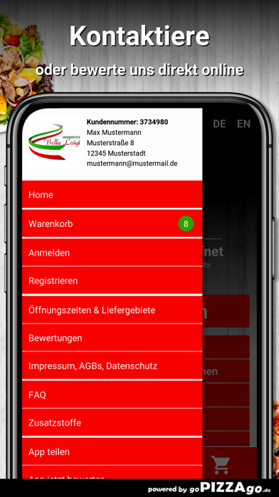 Bella Luigi München screenshot 3