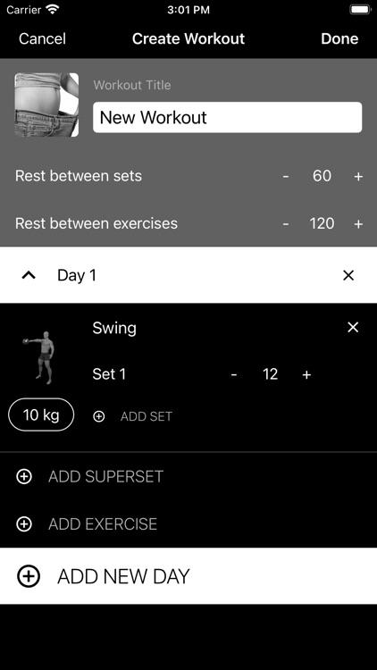 Kettlebell Home Workout screenshot-5
