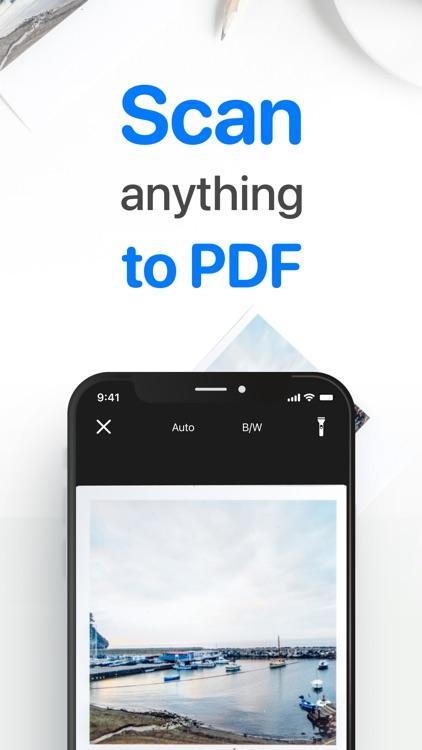iScan - PDF & Document Scanner screenshot-0