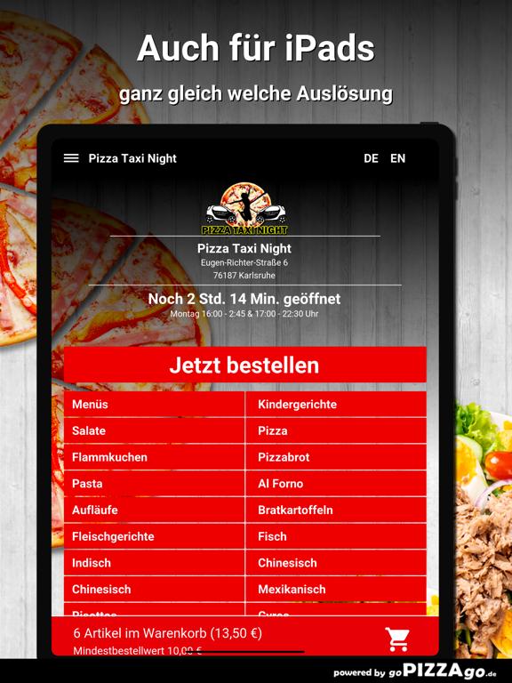 Pizza Taxi Night Karlsruhe screenshot 7