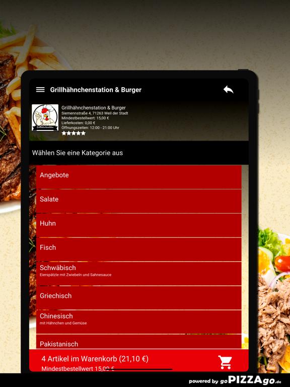 Grillhähnchenstation & Burger screenshot 8