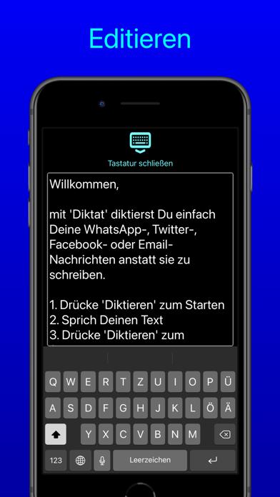 Diktat - Sprache zu TextScreenshot von 6