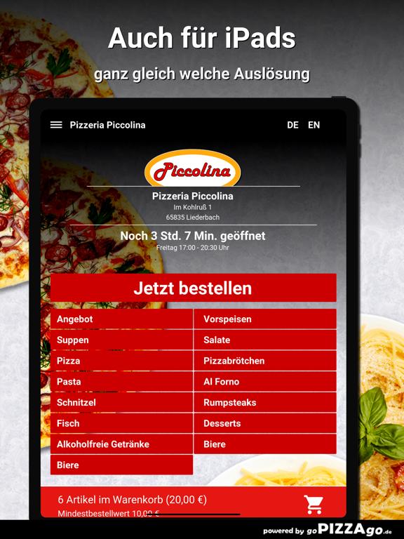 Pizzeria Piccolina Liederbach screenshot 7