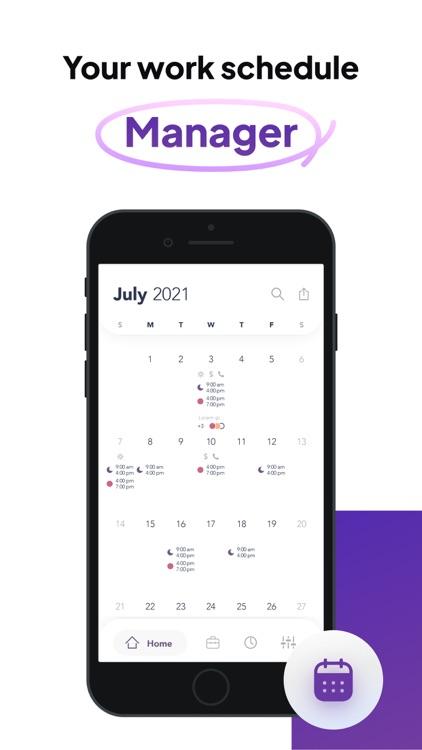 Work Shift Calendar: WorkTime