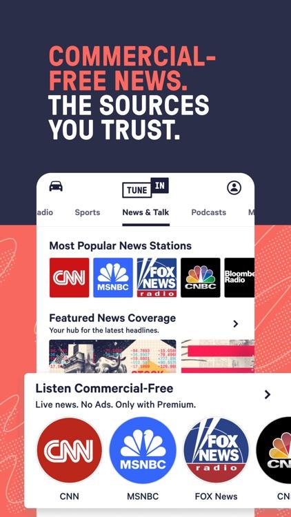 TuneInRadio: Music & Sports screenshot-9