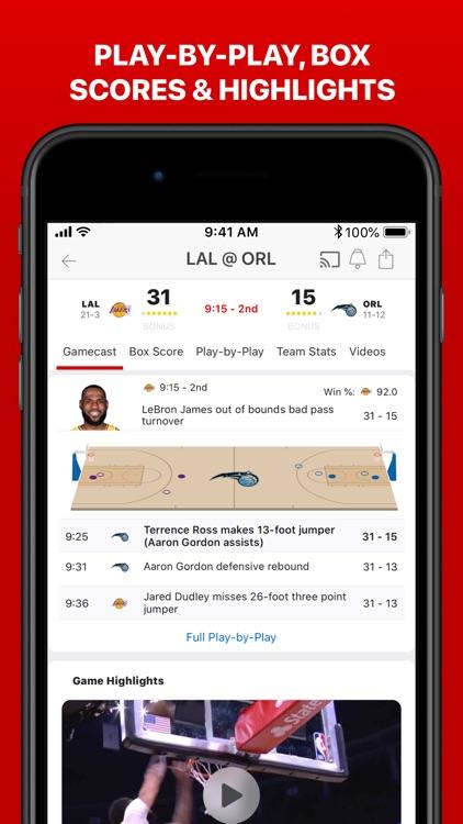 ESPN: Live Sports & Scores screenshot-7