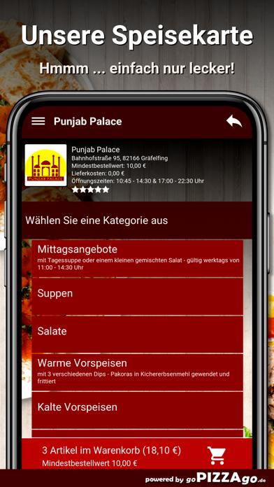 Punjab-Palace Gräfelfing screenshot 4