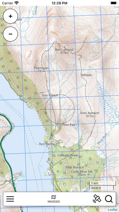 Lomond, South Scotland Map Pro screenshot 3